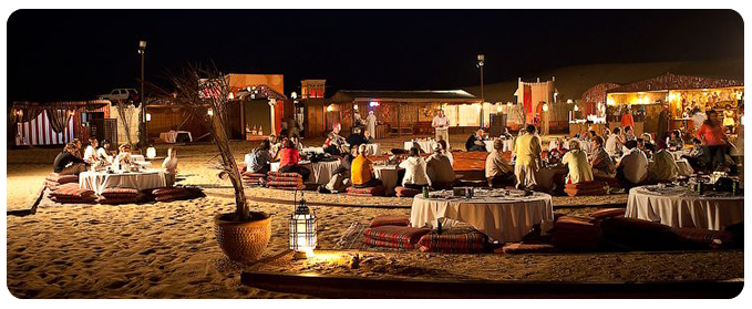 Dune Dinner safari Dubai